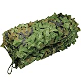 Zilong 6.6*10ft Camo Netting Green Woodland Camouflage Net Military Blinds Army Nets for Sunshade Camping Hunting Shooting Decoration Sunscreen