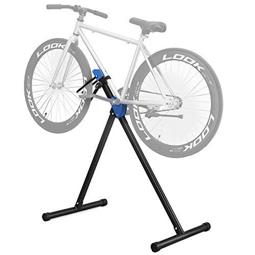 SONGMICS Pro Mechanic Bike Repair Stand Foldable Lightweight Portable Bicycle Maintenance Rack Work Station Black USBR01B