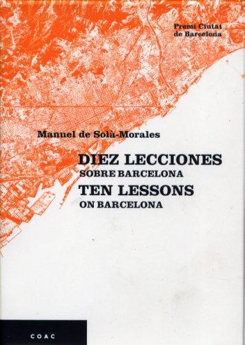 Descargar Libro Diez Lecciones Sobre Barcelona Manuel Sola Morales
