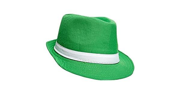 Amazon.com  RINCO ST Patrick Day Party Hat Fashionable Classic Irish Fedora b49dd959e4e7