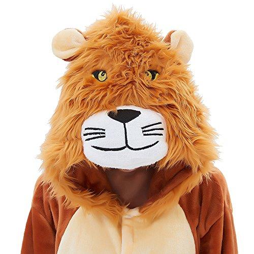 ABENCA Fleece Onesie Pajamas for Women Adult Cartoon Animal Halloween Christmas Cosplay Onepiece Costume