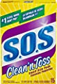 S.O.S. Clean 'n Toss Steel Wool Soap Pads, 15 Count by AmazonUs/CLOO7