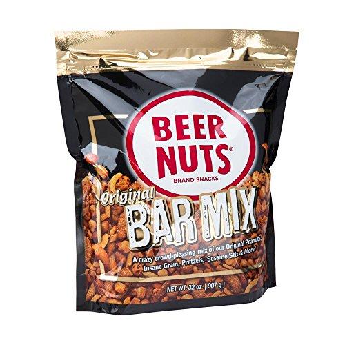 BEER NUTS Original Bar Mix | 32 oz. Resealable Bag (Nut Mix Sesame)