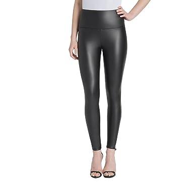 a812b1d08dd9b1 Lysse Women's Vegan Leather Legging (Black, L) at Amazon Women's Clothing  store: