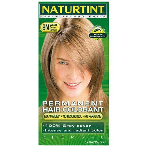 (6 PACK) - Naturtint - Hair Dye - 8N Wheatgerm Blonde | 135ml | 6 PACK BUNDLE by Naturtint
