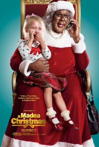 Tyler Perry's A Madea Christmas (2013) 27 x 40 Movie Poster Style D (A Poster Christmas Madea)