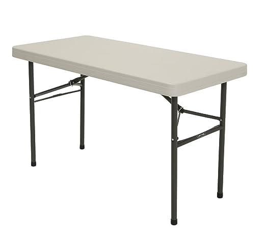 Lifetime plástico plegable, mesa plegable & Camping Mesa 10 Set ...