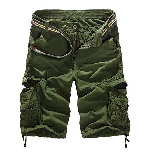 Pants Lâche Vintage Plage En Genou Fête Air Fashion Au Sans De Pantalon Lannister Vêtements Hommes Plein Longueur Cargo Short Shorts Grün Bermuda wTqgxIE