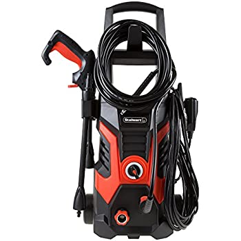 Pressure Washer Electric Powered 1900 PSI By Stalwart (Power Washer For Cleaning Driveways, Patios, Decks, Cars and More)