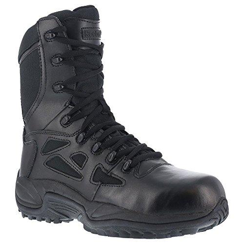 Reebok Women's Rapid Response Rb888 Safety Boot,black (8m)