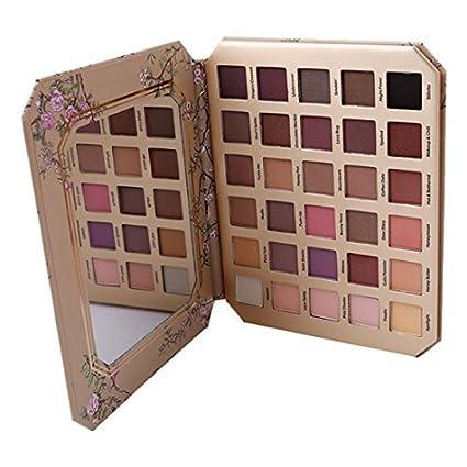 GODHL Paleta de sombras de ojos, 30 colores, profesional ...