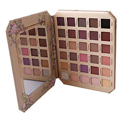 GODHL 30colori ombretto Palette professionale occhio Palette cosmetici trucco Eyeshadow