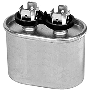 Capacitor 4MFD 370Vac ovalado onetrip partsâ ® Direct Replacement for RHEEM Ruud Weather King 43–25134–27, Model:, Tools & Hardware Store
