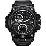 Military Men's Sports Analog Quartz Watch...