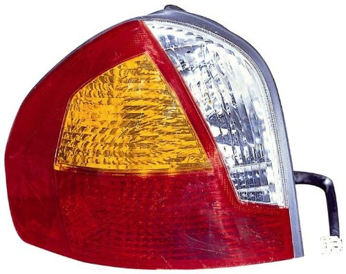 (Depo 321-1928L-AS Hyundai Santa Fe Driver Side Replacement Taillight Assembly)