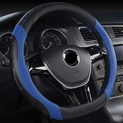 Funda de Volante en Forma de D para VW Polo Micro Fibra de Cuero ...