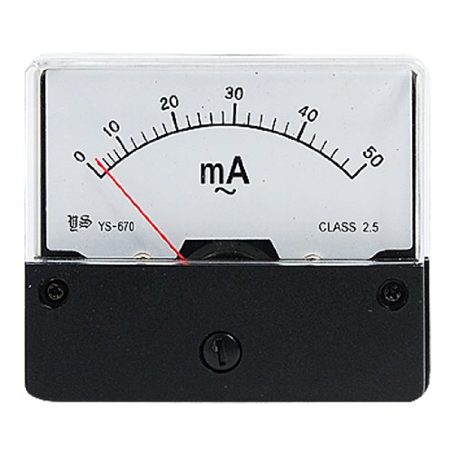 AC 50mA Current Range Analog Panel Meter Ammeter YS-670