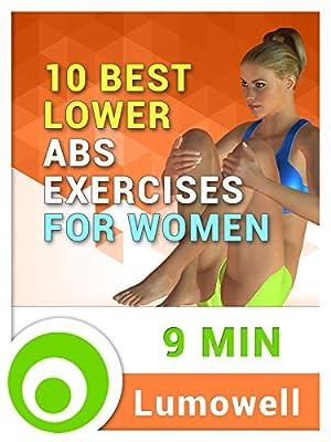 10 Best Lower Abs Exercises for Women