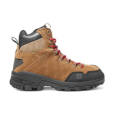 5.11 Men's Cable Hiker Carbon-Tac Safety Toe Boots Military and Tactical, Dark Coyote 9 Medium US: Shoes