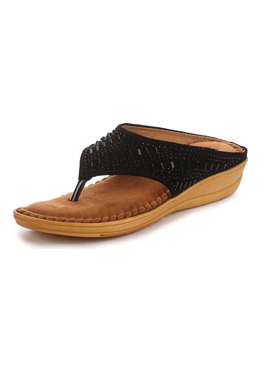 Midsole Women's Embellished Comfortable Sandals