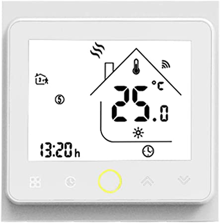 Amazon.com: Stzonece WiFi Termostato inteligente controlador ...