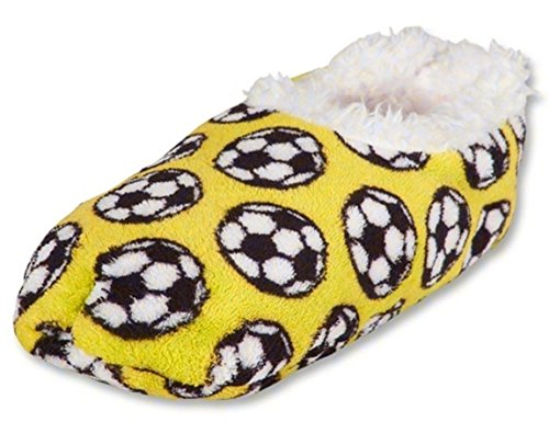 Snoozies Soccer Yellow Soccer Yellow Snoozies Slippers Slippers Snoozies H8nRwFzn