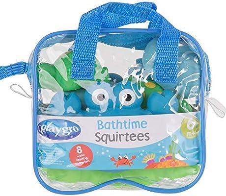 Amazon.com: Playgro bebé hora del baño Squirtees, Niño, Boy ...