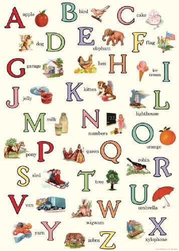 vintage alphabet - 2