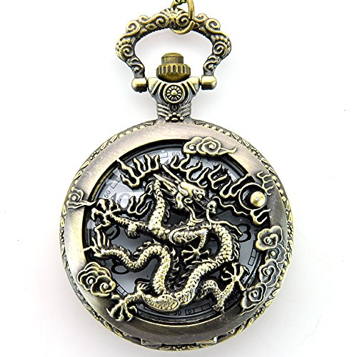 Pocket Watches Bronze Tone - 6