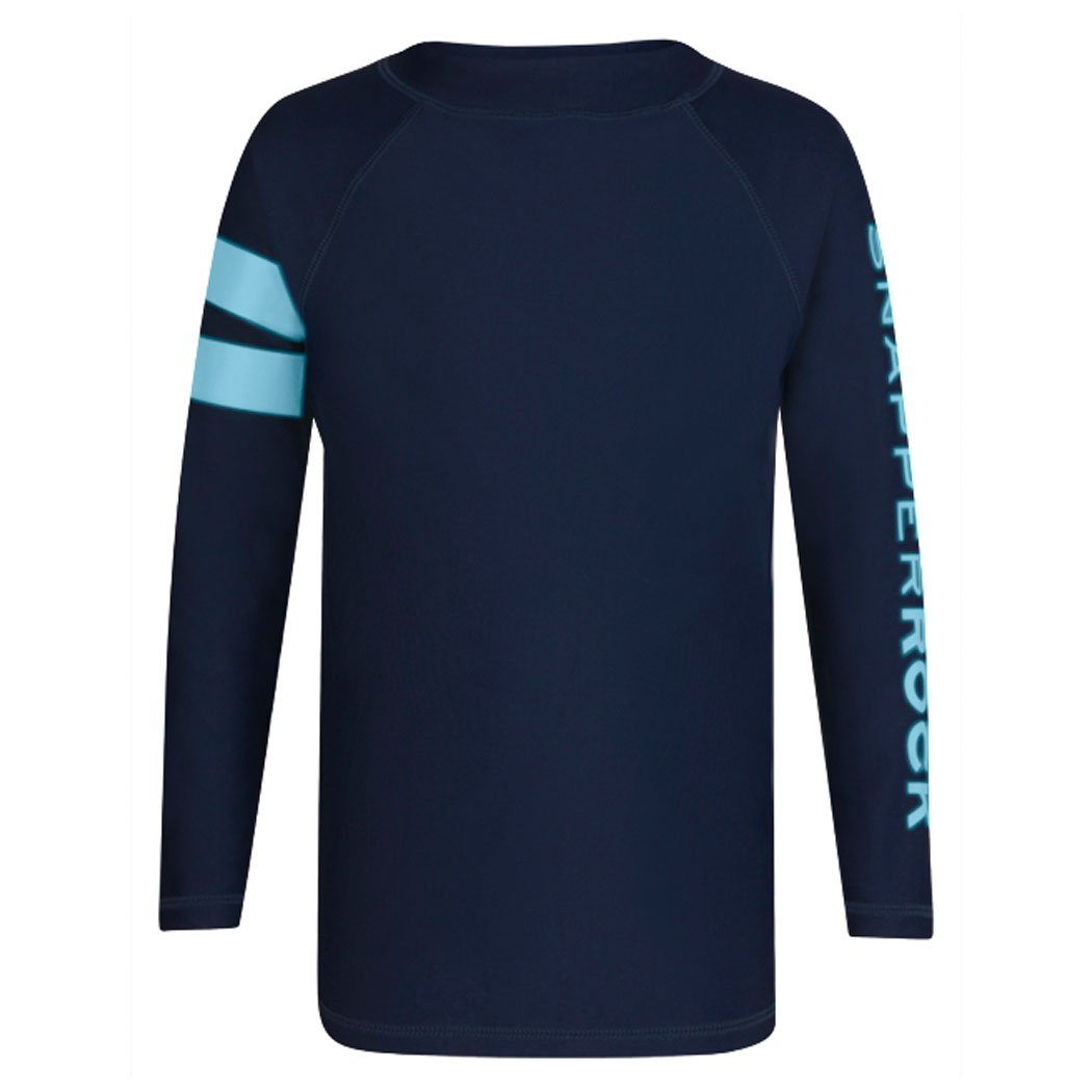 Snapper Rock Boys Long Sleeve UPF 50 Rash Guard Shirt