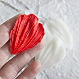 Silicone mold Universal Petal. All-purpose Veiner Mold for gumpaste flower leaves for cake decorating, chocolate, sugarcraft, Cake Decor,Clay
