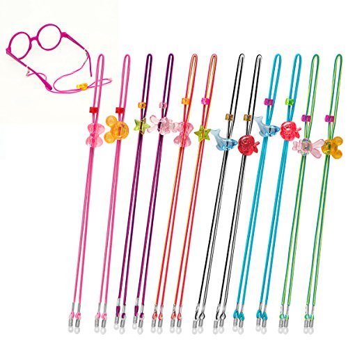 - Kids Glasses Strap (12PCS) Kid Eyeglass Strap Sunglasses Retainer for Boys Girls