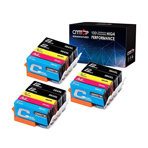 CMTOP 564XL Ink Cartridges Compatible for HP 564 XL 564XL, H