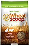 sWheat Scoop Multi-Cat All-Natural Clumping Cat Litter, 14lb Bag (Misc.)