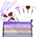 16 Pieces Facial Fan Mask Brush and 4 Piece