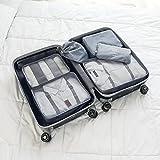 Adwaita 6 Set Packing Cubes, Travel Luggage Packing