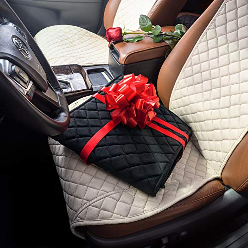 IVICY Car Seat Cover Protector Cushion - Car Seat Protector - Car Seat Cushion - Premium Covers for Women, Men, Girls, Boys - Fits Most Cars, Truck, SUV, or Van - 1-pc