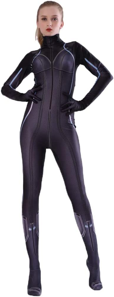 QWEASZER Marvel Avengers Viuda Negra Disfraz de Adulto Película ...
