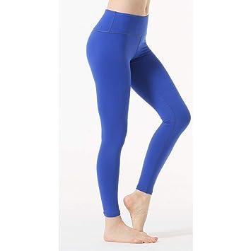LQRR Pantalón de Yoga Rojo Mujeres Gym Wear Polazos de ...