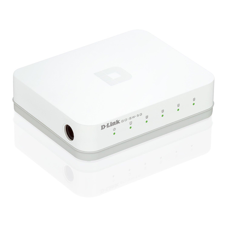 D-Link GO-SW-5G 5-Port Gigabit Easy Desktop Switch: Amazon.de ...