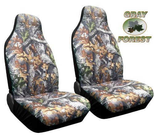 high back seat covers camo - 4