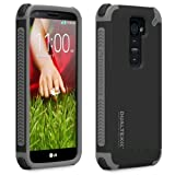 Puregear Dualtek Extreme Impact Case for LG G2 - Retail Packaging - Black Matte