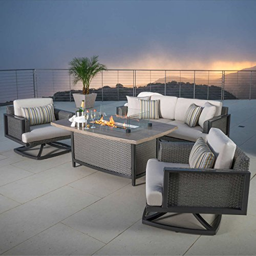 Vistano 4-piece Fire Chat Seating Set