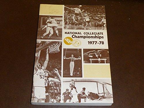 1977-78 NCAA RECORD BOOK BASEBALL FOOTBALL HOCKEY BASKETBALL WRESTLING SOCCER ()