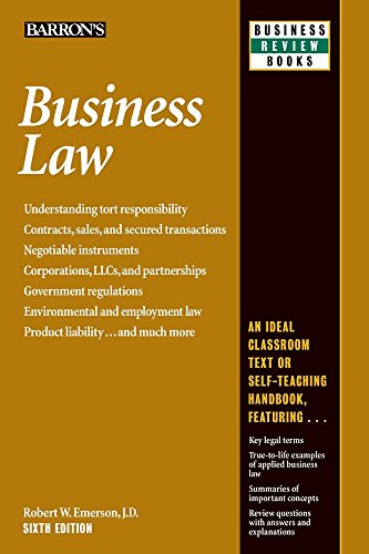 business law robert emerson - 1