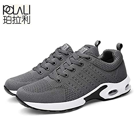 Amazon.com: DingXiong POLALI UniSneakers Shoes Men Casual Male Krasovki Fly Weave Sneakers Trainers Zapatillas Hombre Couple Big Size 35-45: Garden & ...