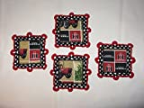 SET OF 4 FARMALL INTERNATIONAL HARVESTER COASTERS