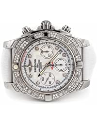 automatic-self-wind mens Watch AB0140 (Certified Pre-owned)