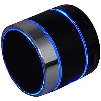 Novpeak LED Wireless mini Bluetooth Speaker with FM Radio...