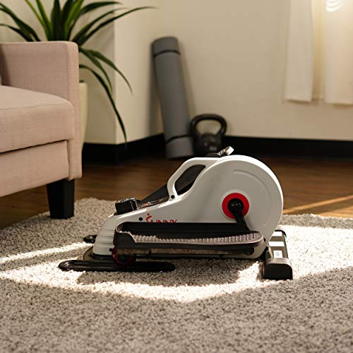 Sunny Health & Fitness Fully Assembled Magnetic Under Desk Elliptical – SF-E3872 by Sunny Health & Fitness (Image #13)